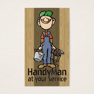 Odd Jobs. Handyman. Painter. Builder Template