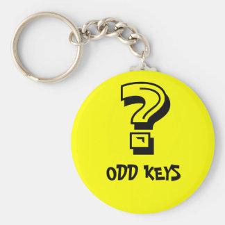 ?, ODD KEYS BASIC ROUND BUTTON KEY RING