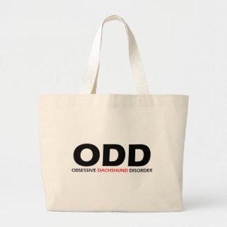 ODD - Obsessive Dachshund Disorder Large Tote Bag