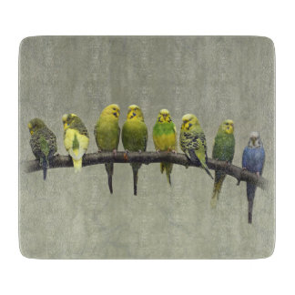 Odd One Out Glass Cutting Board
