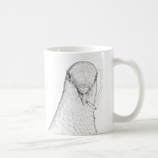 Odd Pigeon Mug (Left-Handed) | Birds with Attitude