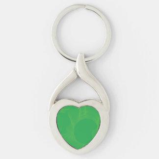 Odd Wavy Bends greens Keychains