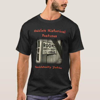 Oddie's Historical Features - 'Oddie's Rooms' T-Shirt