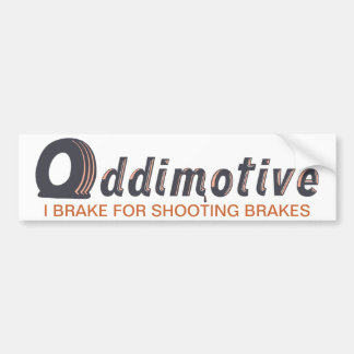Oddimotive Shooting Brake Bumper Sticker
