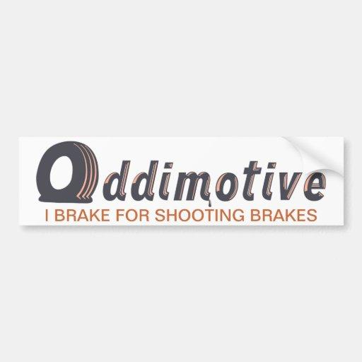 Oddimotive Shooting Brake Bumper Sticker