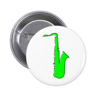 oddRex saxophone 6 Cm Round Badge