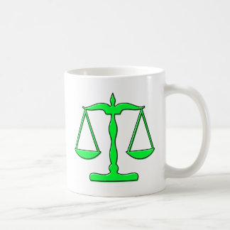 oddRex scales of justice Mugs