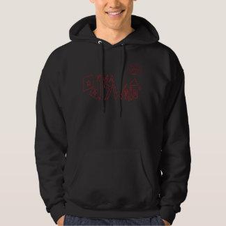 ODDSWAG CO. Hoddie Hooded Sweatshirts