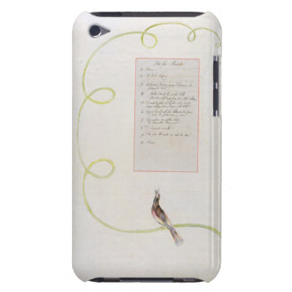 'Ode for Music' design 94 from 'The Poems of Thoma Barely There iPod Cover