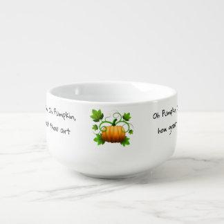 Ode to a Pumpkin Soup Mug