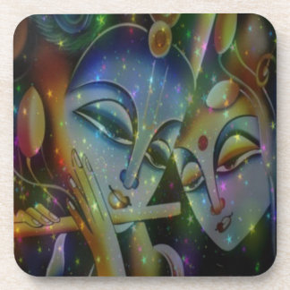 ode to india music drink coasters