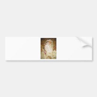 Ode To Klimt by Gustav Klimt Bumper Sticker