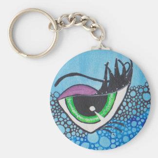Ode to Natalie VonRaven Basic Round Button Key Ring