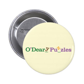 O'Deary Puzzles 6 Cm Round Badge