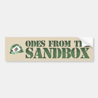 Odes From The Sandbox Bumper Sticker