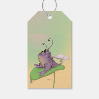 ODILE CUTE  ALIEN CARTOON  GIFT TAG