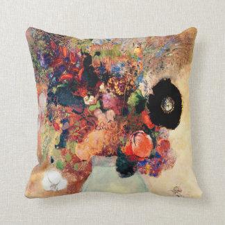 Odilon Redon - Black Poppy Cushion