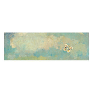 Odilon Redon Butterflies Vintage Symbolism Art Pack Of Skinny Business Cards