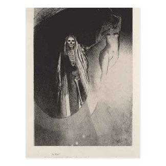 Odilon Redon- Death Postcard