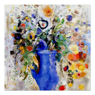 Odilon Redon - Large Bouquet Poster