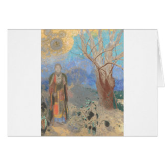 Odilon Redon: Le Bouddha, The Buddha Card