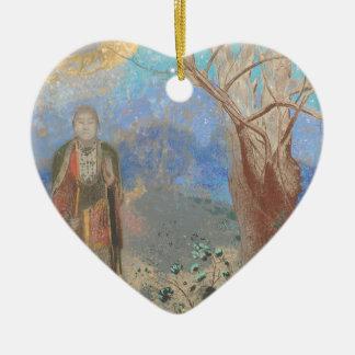 Odilon Redon: Le Bouddha, The Buddha Ceramic Ornament