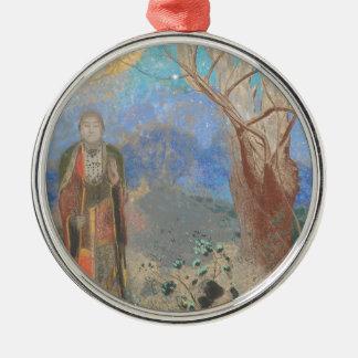 Odilon Redon: Le Bouddha, The Buddha Metal Ornament