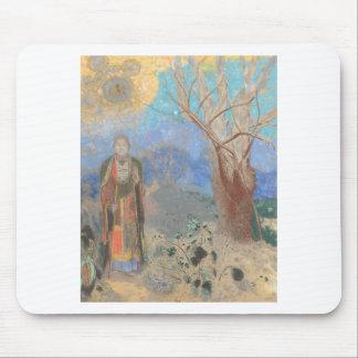 Odilon Redon: Le Bouddha, The Buddha Mouse Pad