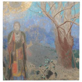 Odilon Redon: Le Bouddha, The Buddha Napkin