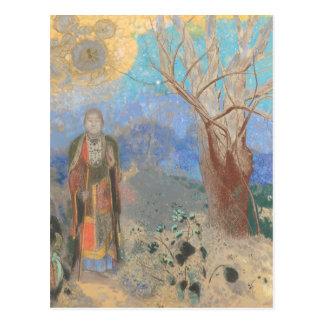 Odilon Redon: Le Bouddha, The Buddha Postcard