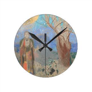 Odilon Redon: Le Bouddha, The Buddha Round Clock