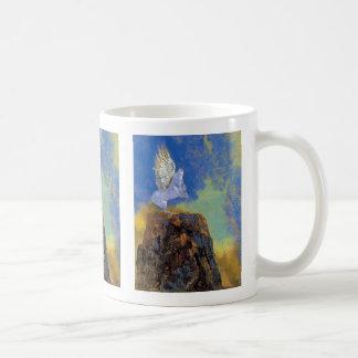 Odilon Redon Pegasus - Greek Mythology Symbolism Coffee Mug