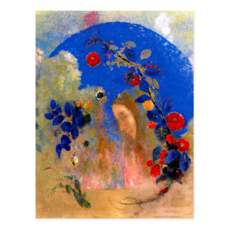 Odilon Redon - Profile beneath an Arch Postcard