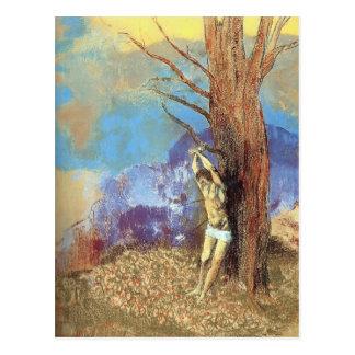 Odilon Redon- Saint Sebastian Postcard