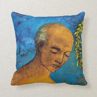 Odilon Redon The Crown - Fine Art Symbolism Cushion