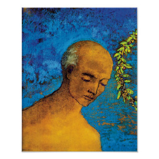 Odilon Redon The Crown - Fine Art Symbolism Poster