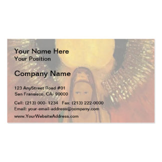 Odilon Redon- The Flame (Goddess of Fire) Business Card