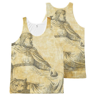 odin All-Over print singlet