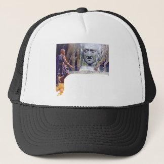 Odin in front of Mimir Trucker Hat