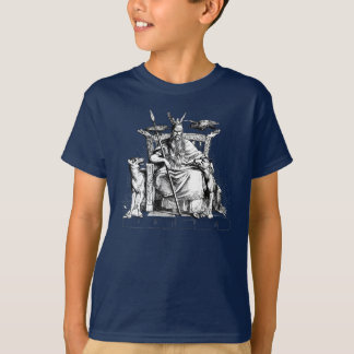 Odin - Odin Sketch Norse Gods Nordic Viking Shirt