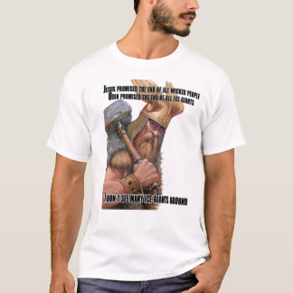 Odin Promised the End of Frost Giants T-Shirt