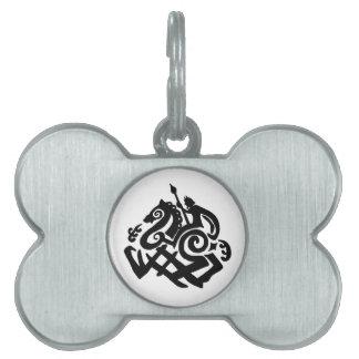 Odin Riding Sleipnir Dog tag