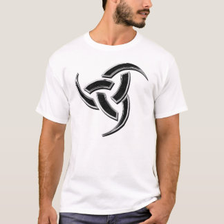 Odin Triple Horn chrome T-Shirt