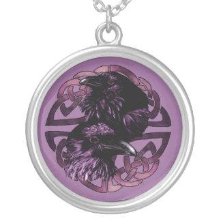 Odin's Ravens Necklace
