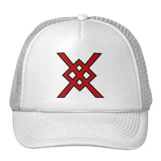 Odin's Spear (red & black) Trucker Hat