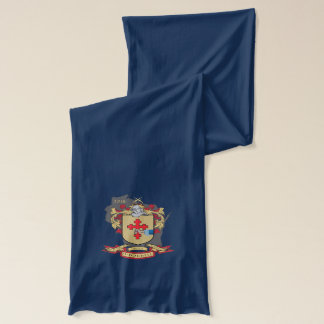 O'Donnell Navy Jersey Scarf