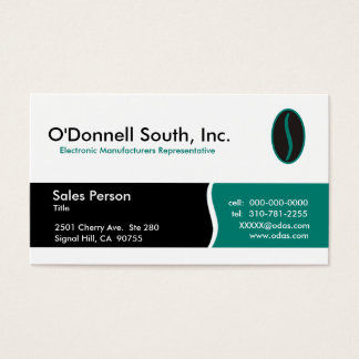 O'Donnell South Business Cards