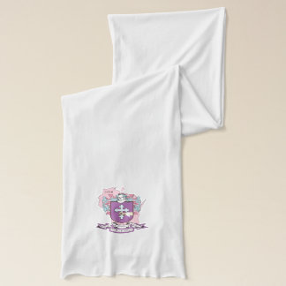 O'Donnell White Jersey Scarf
