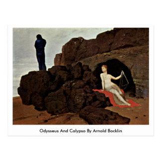 Odysseus And Calypso By Arnold Bocklin Postcard