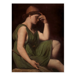 Odysseus, study for the Apotheosis of Homer Postcard